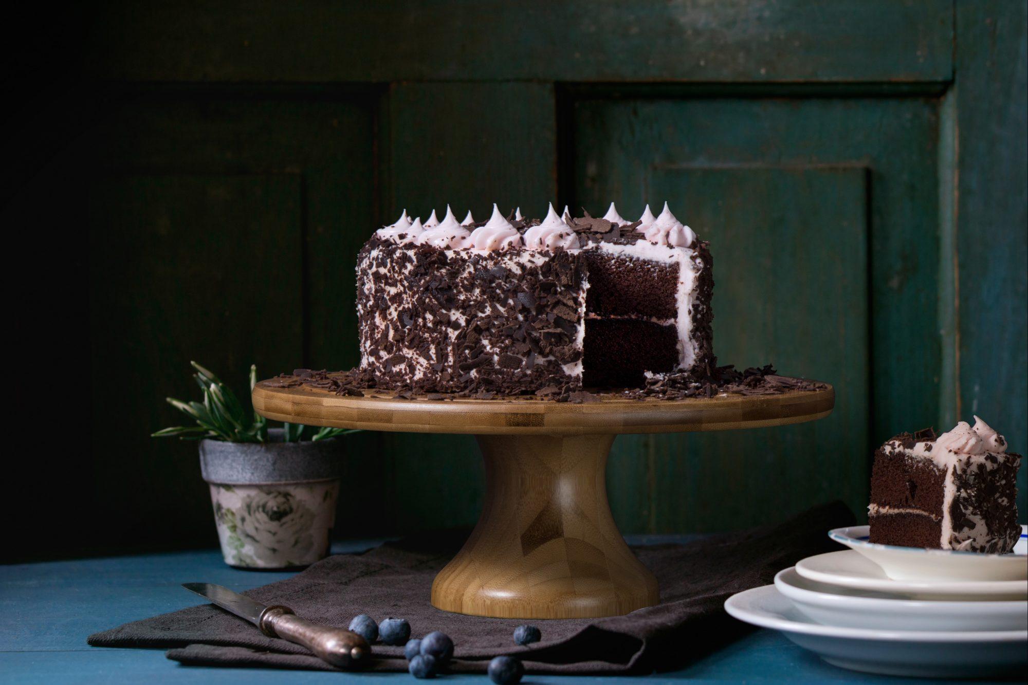 Pyszny tort czekoladowy