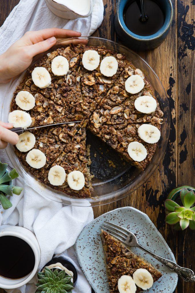 Przepis na tort bananowy z gorzką czekoladą