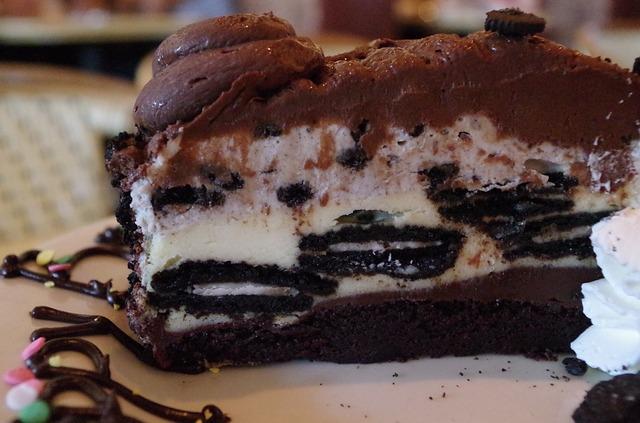 czekoladowy sernik